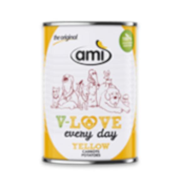 Alimento húmido para cão (amarela) Amì 400 g
