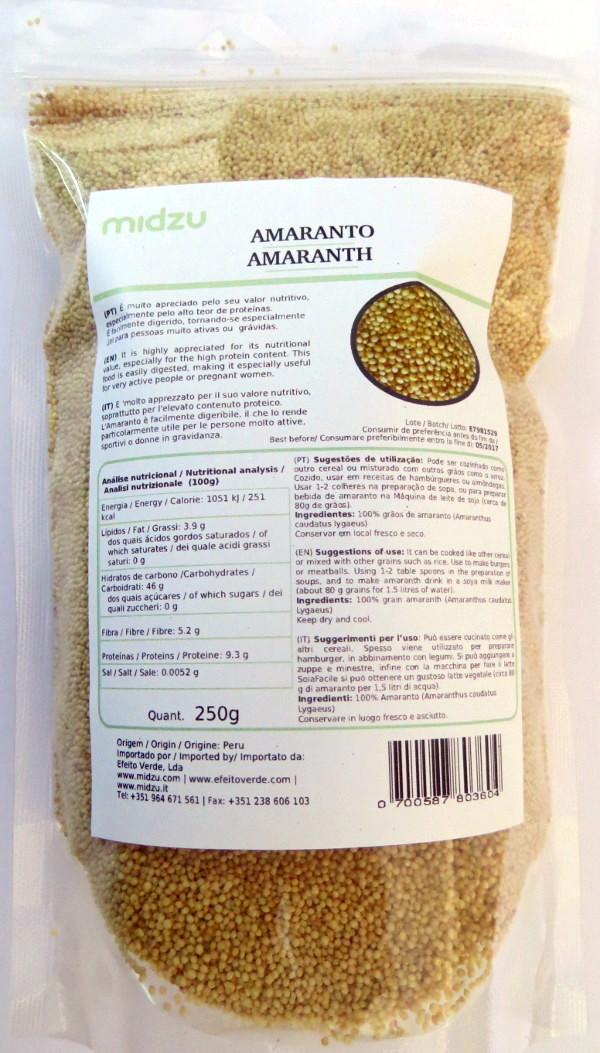 Amaranto Midzu 250g