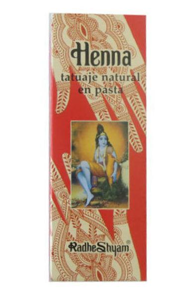 Tatuagem natural em pasta Henna - Radhe Shyam