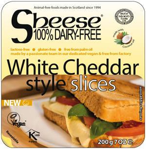 Sheese Cheddar Branco em fatias