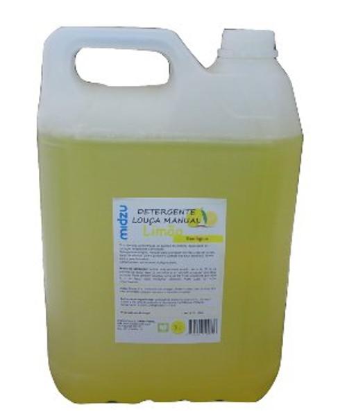 Detergente Louça manual Midzu – Limão 5 L