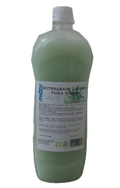 Detergente Líquido para Roupa Midzu - Aloé Vera 1 L
