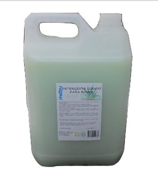 Detergente Líquido para Roupa Midzu - Aloé Vera 5 L