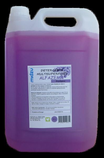 Detergente Multisuperfícies Midzu - Alfazema 5 L