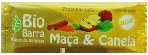 Barrita de maçã e canela 30 g - sem glúten