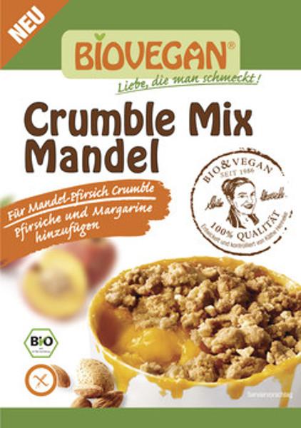 Crumble Mix de Amêndoa biológica - sem glúten