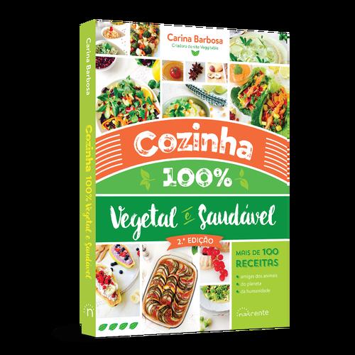 Livro Cozinha 100% Vegetal e Saudável