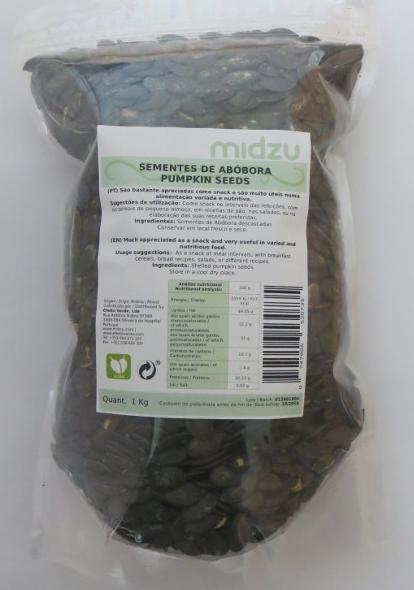 Sementes de Abóbora Midzu 1 Kg