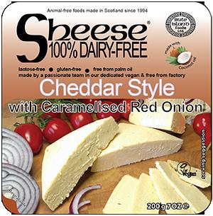 Sheese Cheddar com Cebola roxa Caramelizada