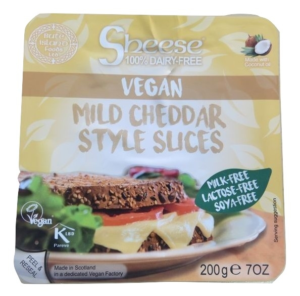 Sheese Cheddar suave em fatias
