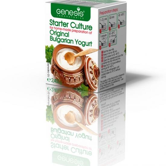 Fermento de iogurte Búlgaro Original - 2.4 g
