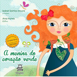 Livro A menina do coração verde
