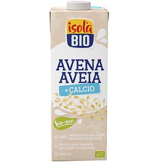 Bebida de Aveia + Cálcio Isola BIO 1Lt