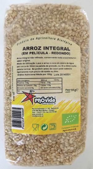 Arroz integral biológico 1kg