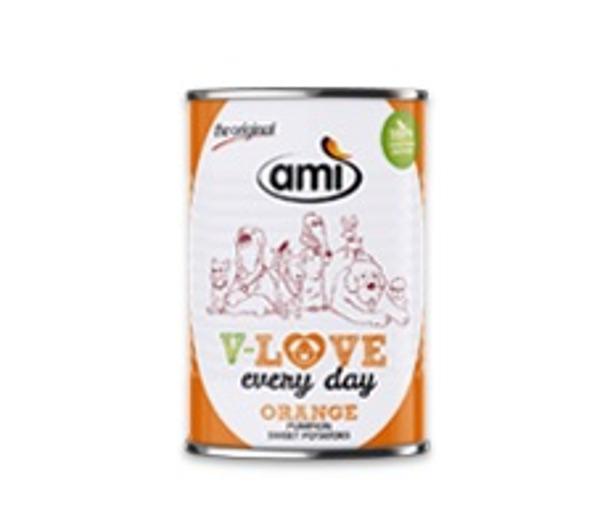 Alimento húmido para cão (laranja) Amì 400 g