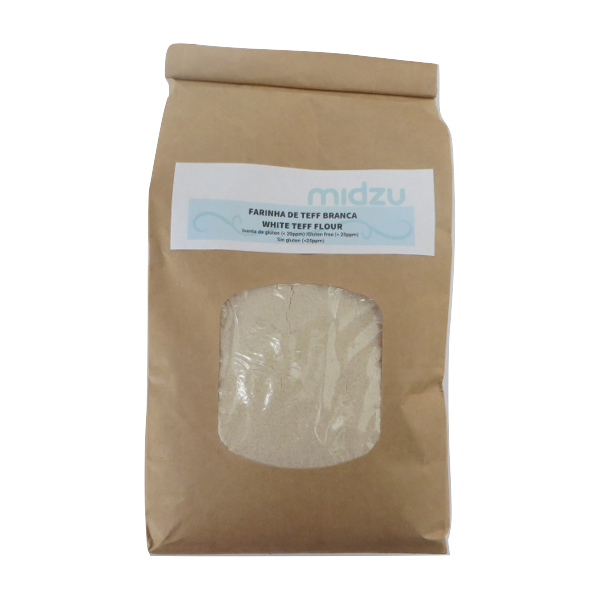 Farinha de Teff branca Midzu 1Kg