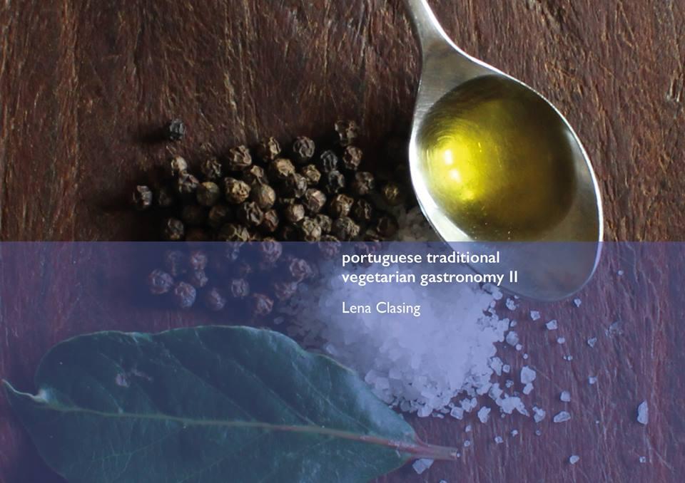 Livro Gastronomia vegetariana tradicional portuguesa II