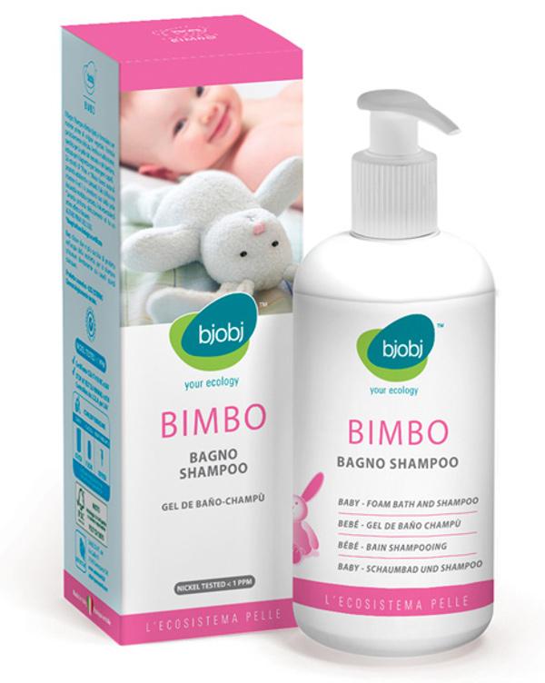 Espuma de banho e champô para bebé 250ml - Bjobj