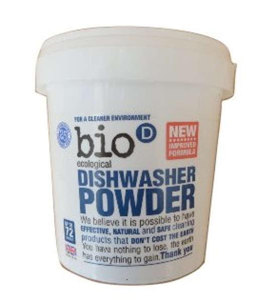 Detergente em pó para máquina de lavar louça 720g - Bio-D