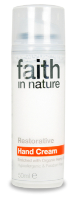 Creme de mãos reparador Faith in Nature 50ml