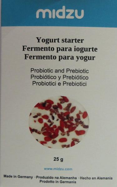 Fermento para iogurte Midzu