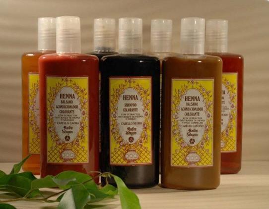 Champô colorante Henna para cabelos caju 250 ml - Radhe Shyam