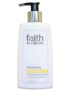 Loção corporal Revitalizante Faith in Nature 150ml